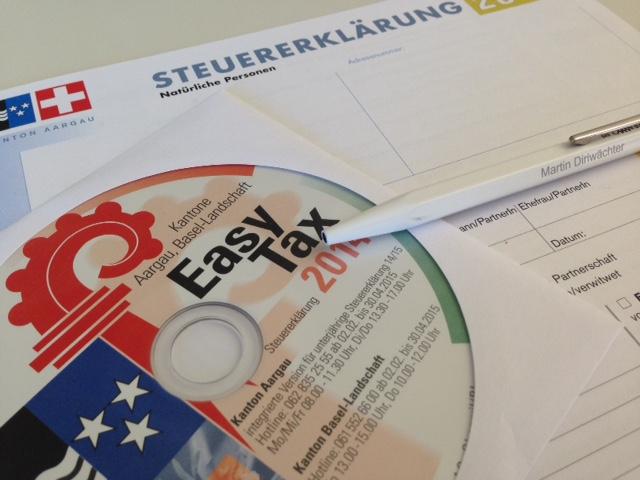 steuererklärung aargau