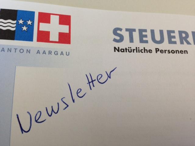 Steuer - Newsletter