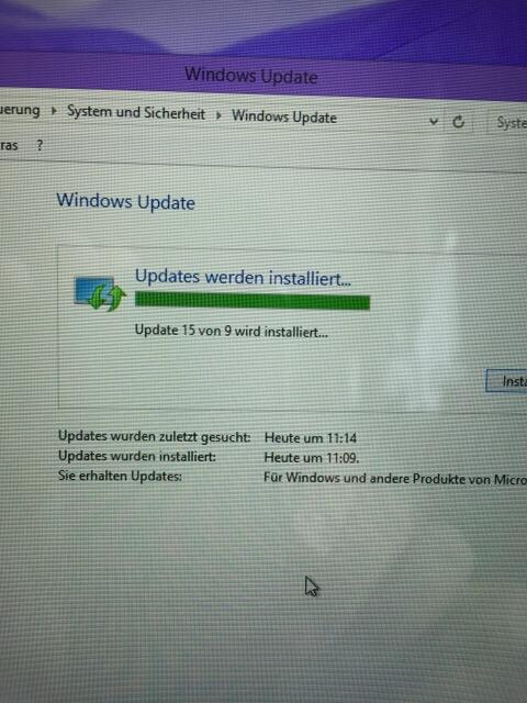 Windows und zählen